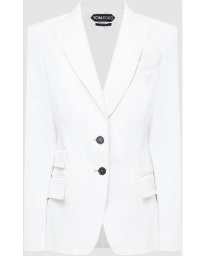 Белый пиджак Tom Ford