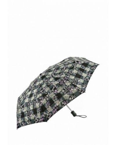 Зеленый зонт складной Fulton