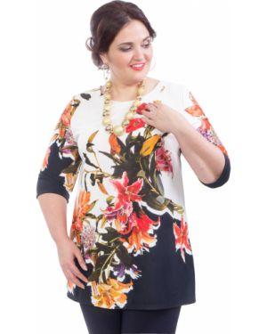 Блузка с цветочным принтом большой Wisell