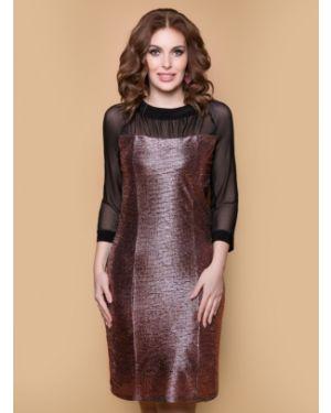 Вечернее платье сетчатое платье-сарафан Belluche