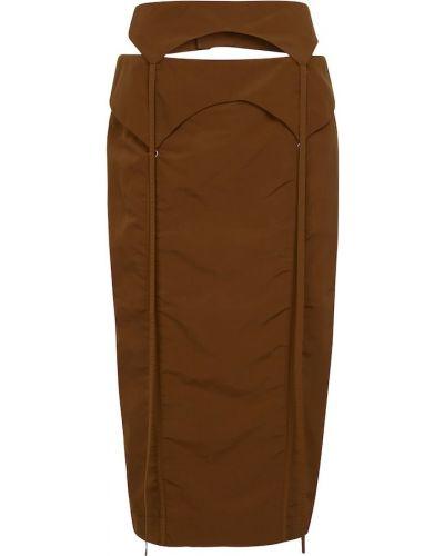 Spódnica ołówkowa - brązowa Jacquemus