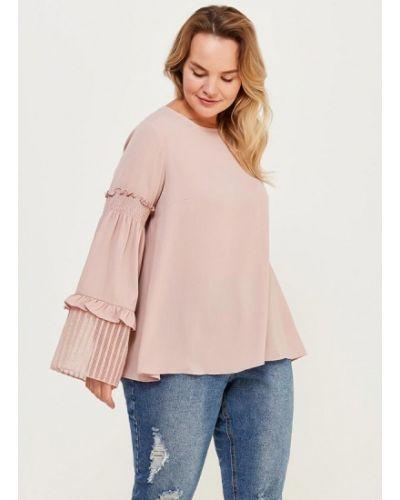 Блузка розовая Lost Ink Plus