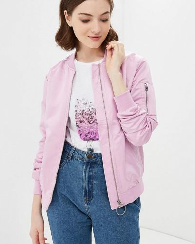 Розовая куртка осенняя Modis