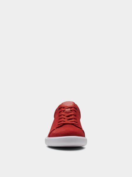 Красные низкие кеды Clarks