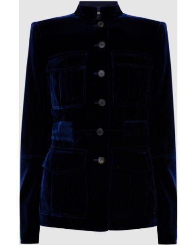 Синий пиджак Tom Ford