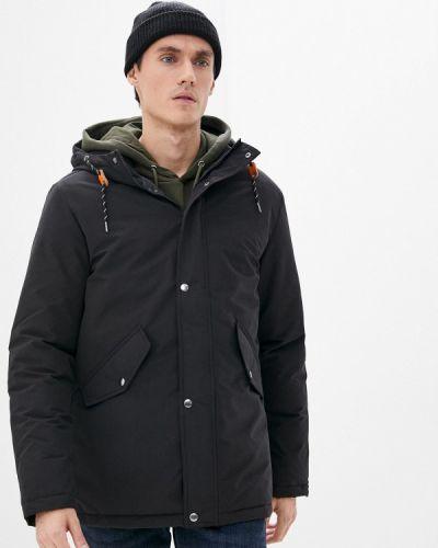 Черная куртка утепленная Produkt