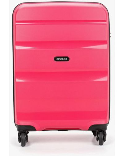 Чемодан розовый American Tourister