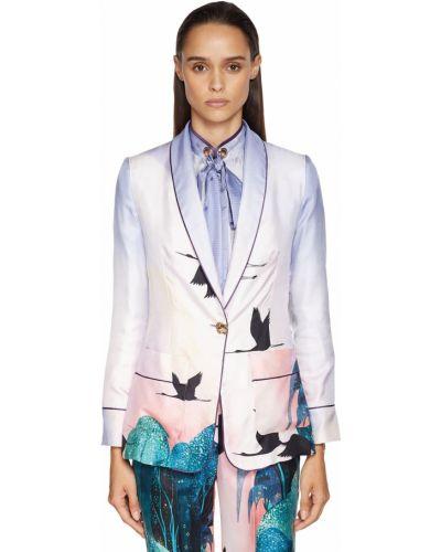 Куртка с накладными карманами - розовая F.r.s. For Restless Sleepers