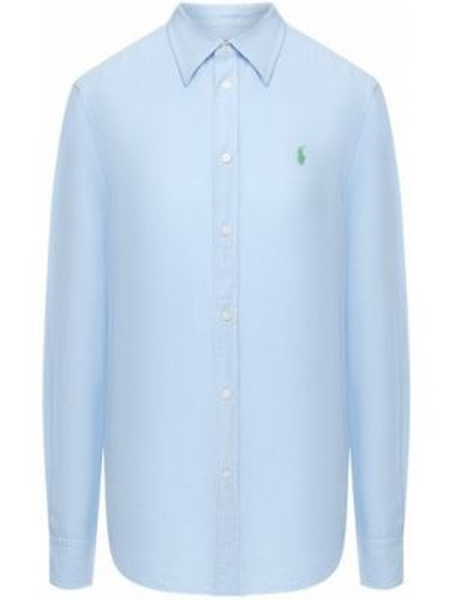 Рубашка льняная с вышивкой Polo Ralph Lauren