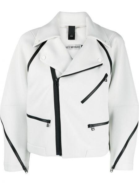 Куртка байкерская - серая Issey Miyake