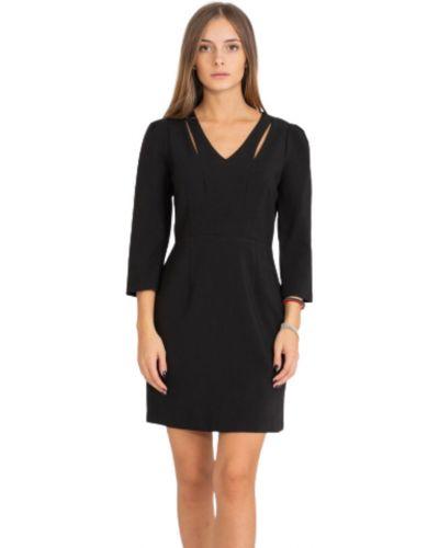Czarna sukienka na co dzień Suncoo