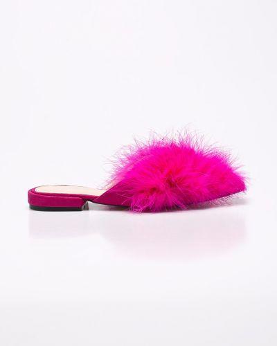 Розовые сандалии текстильные Public Desire