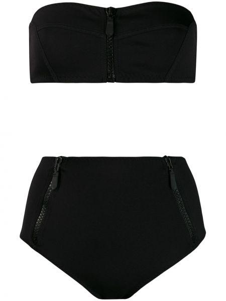 Черный топ винтажный Emilio Pucci Pre-owned
