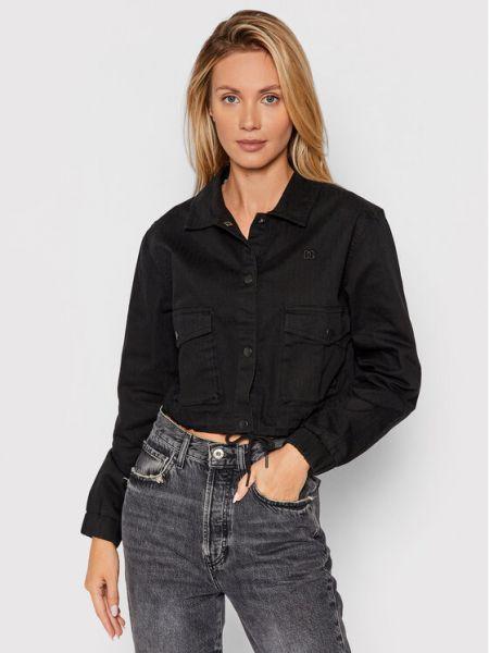 Kurtka jeansowa - czarna Dc