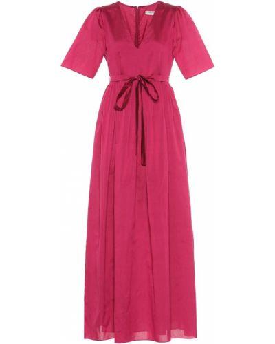Платье мини розовое шелковое 's Max Mara