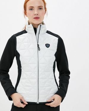 Спортивный костюм белый теплый Ea7