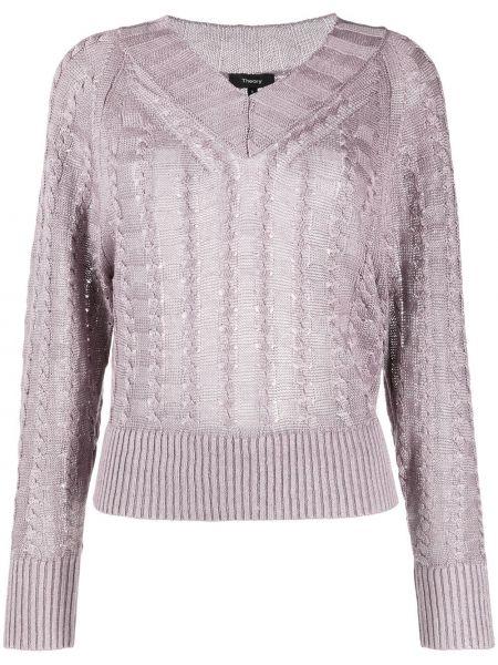 Пуловер из вискозы Theory