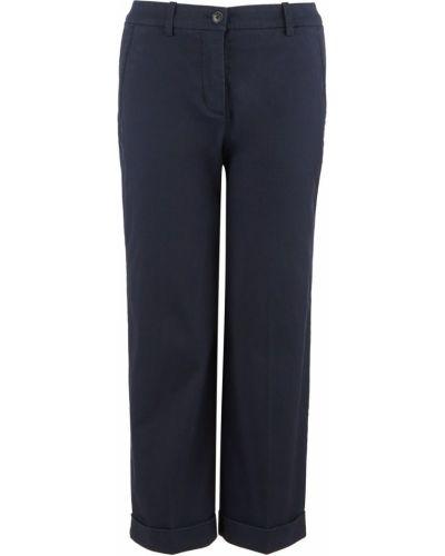 Синие брюки с отворотом Marc O`polo
