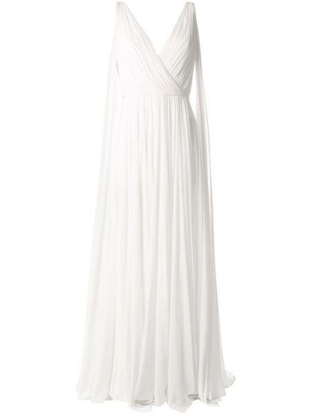 Платье с поясом с открытой спиной с разрезами по бокам Saiid Kobeisy