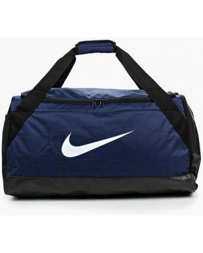 Синяя спортивная сумка Nike