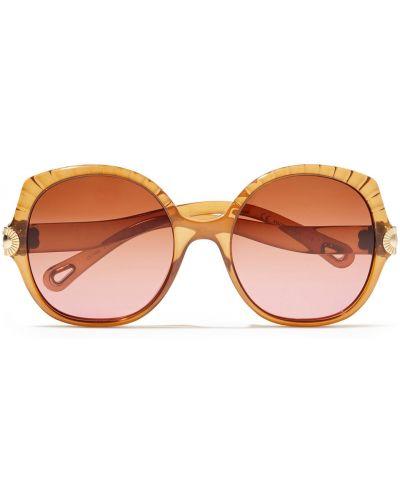 Brązowe okulary Chloe