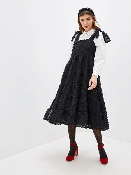 Вечернее платье осеннее черное Sister Jane