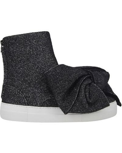 Кожаные ботинки черные кожаные Joshua Sanders