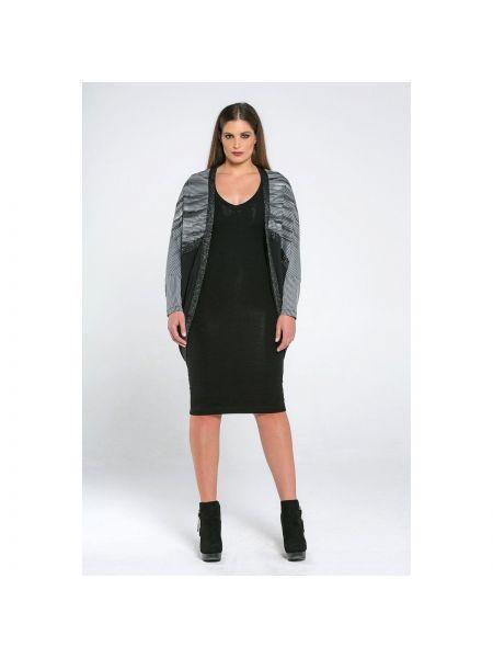 С рукавами серый кардиган Mat Fashion