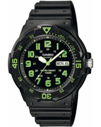 Zielony zegarek sportowy Casio