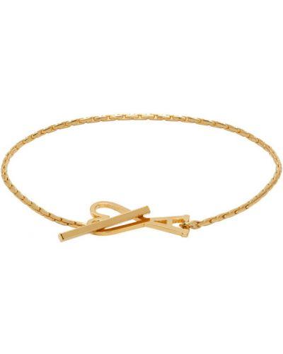 Złota bransoletka ze złota Ami Alexandre Mattiussi