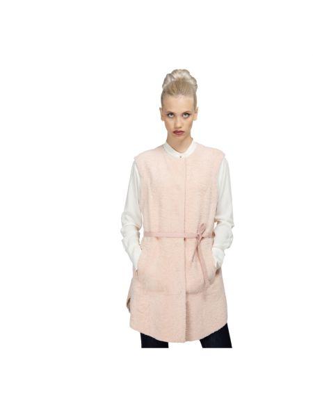 Różowy płaszcz Drome
