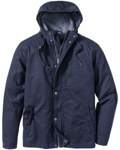 Куртка с капюшоном демисезонная легкая Bonprix