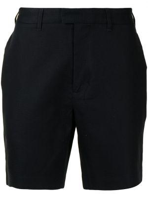 Черные хлопковые шорты Fred Perry