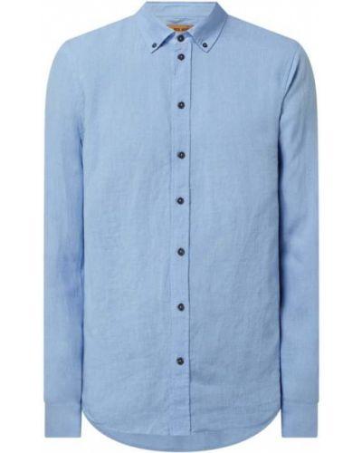Lniana koszula - niebieska Mos Mosh