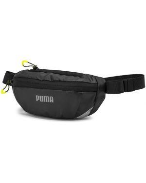 Пышная черная классическая поясная сумка на молнии Puma