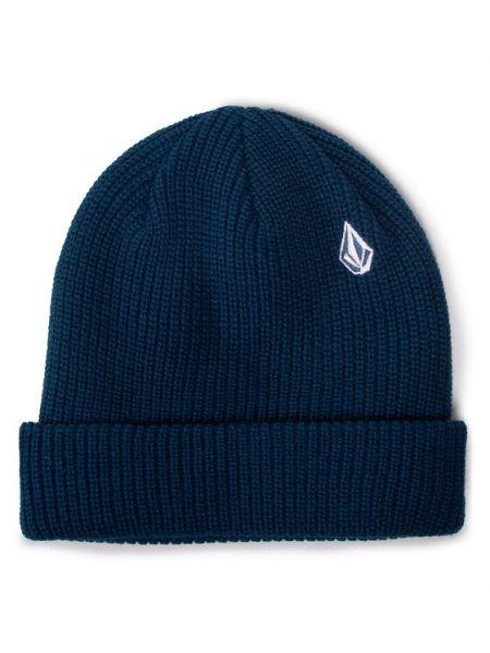 Niebieska czapka beanie Volcom