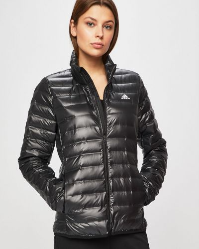 Стеганая куртка укороченная облегченная Adidas Performance