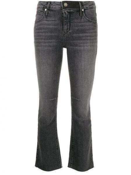 Укороченные джинсы свободные расклешенные Rta