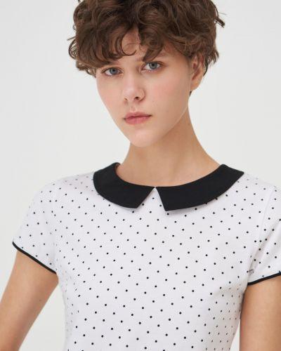 Белая блузка летняя Sinsay