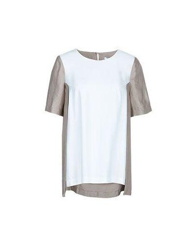 Бежевая блузка Vuall