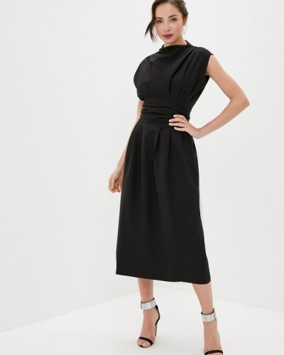 Черное платье осеннее Rich & Naked