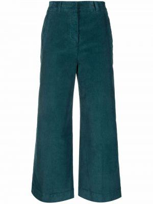 Брюки вельветовые - зеленые Pt01