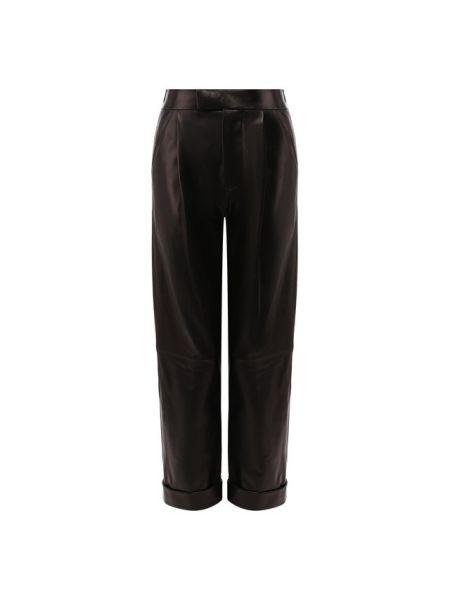 Свободные брюки со стрелками с защипами Tom Ford