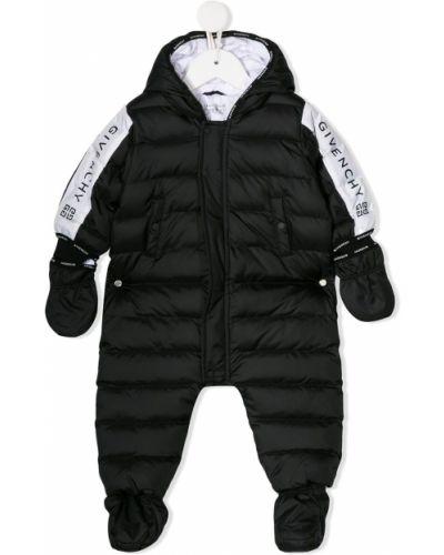 Костюм с капюшоном черный Givenchy Kids