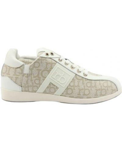 Szare sneakersy Roccobarocco