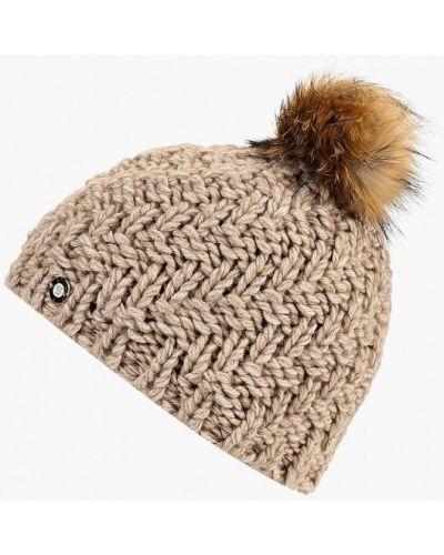 Бежевая шапка осенняя Baon