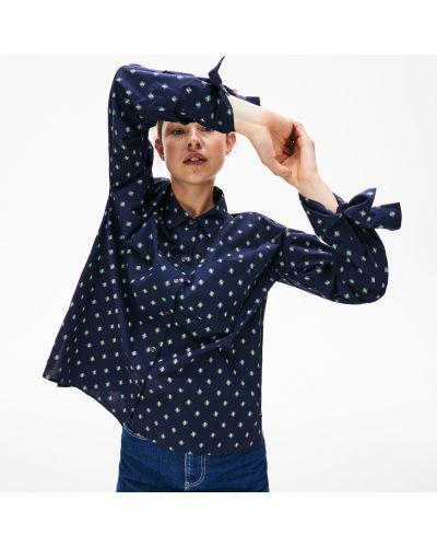 Рубашка с принтом с карманами Lacoste