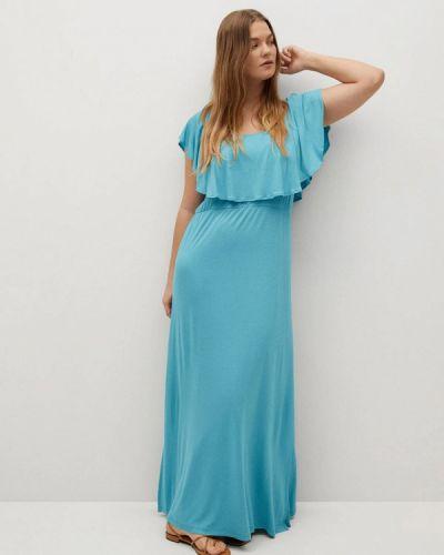 Платье со спущенными плечами Violeta By Mango