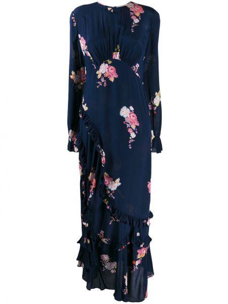 Асимметричное платье макси Preen Line