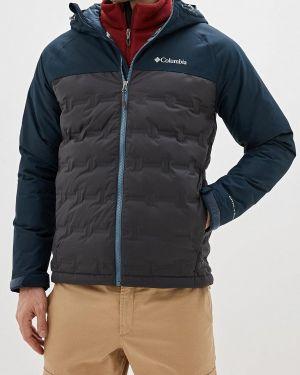 Зимняя куртка черная осенняя Columbia